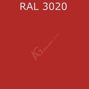 Порошковая краска RAL 3020 (Транспортный красный) полиэфирная гладкая глянцевая /25кг