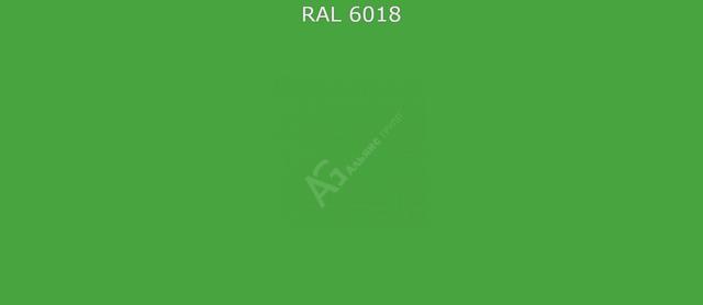 Краска порошковая RAL6018 (Желто-зеленый) полиэфирная глянцевая