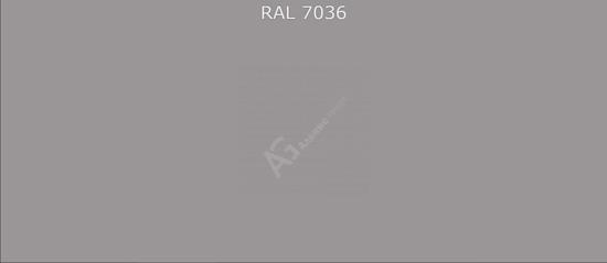 Краска порошковая RAL7036 (Платиново-серый) полиэфирная гладкая глянцевая/25кг