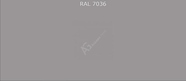 Краска порошковая RAL7036 (Платиново-серый) полиэфирная шагрень