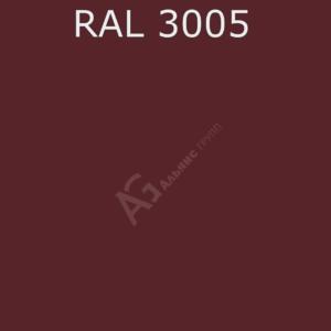 Порошковая краска RAL 3005 (Винно-красный) полиэфирная гладкая глянцевая/25кг